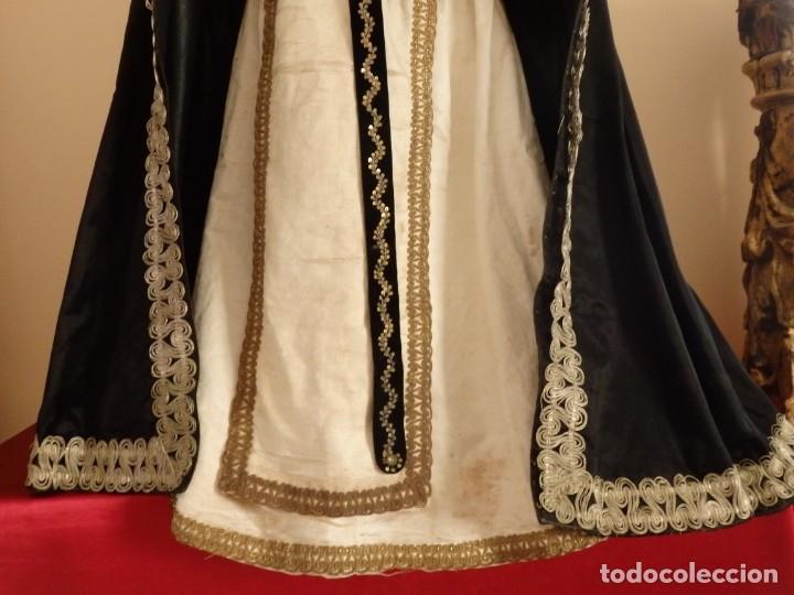 Arte: San Pedro Mártir. Imagen vestidera o cap i pota en madera tallada. 98 cm. Siglo XVIII. - Foto 18 - 143340742