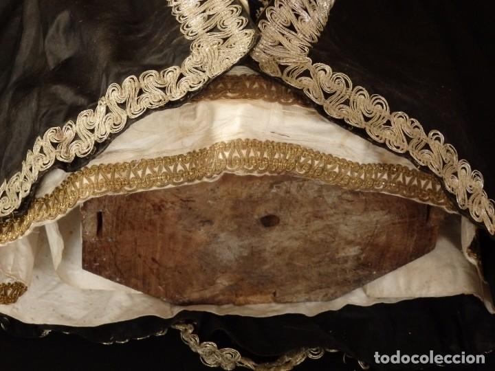 Arte: San Pedro Mártir. Imagen vestidera o cap i pota en madera tallada. 98 cm. Siglo XVIII. - Foto 25 - 143340742