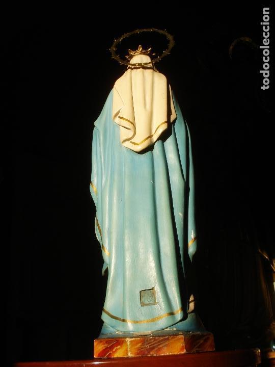Arte: VIRGEN MILAGROSA CON CORONA SELLADA DE OLOT - Foto 6 - 143361294