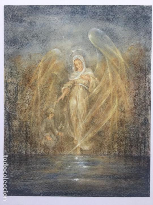 DIBUJO ORIGINAL RELIGIOSO DE DANUTA PIATKOWIAK (Arte - Arte Religioso - Pintura Religiosa - Otros)