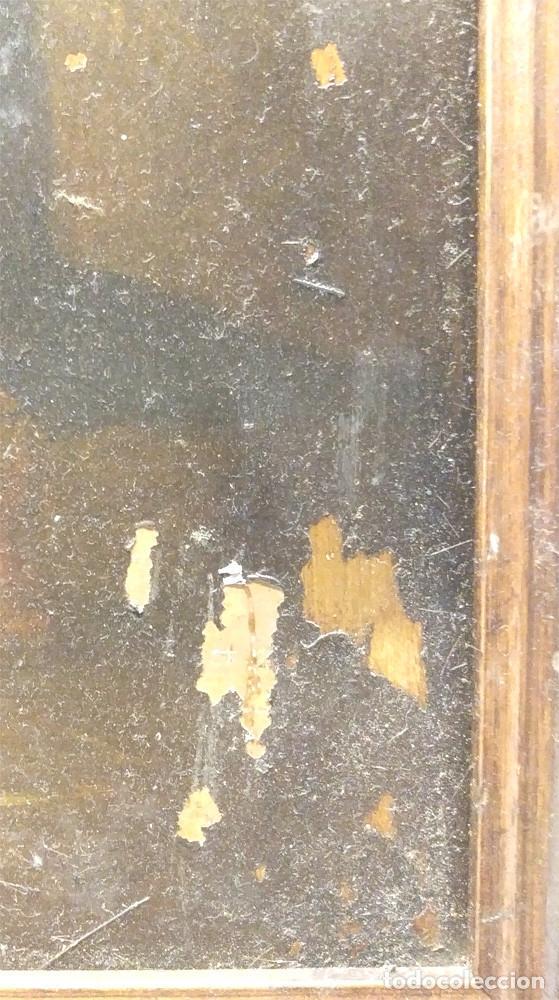 Arte: Escena Religiosa óleo sobre cobre S XIX. Med. 45 x 54 cm - Foto 5 - 143879554