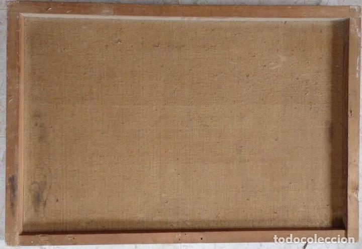 Arte: Evangelización en la Nueva España. Óleo sobre lienzo, Siglos XVII-XVIII. 112 x 76 cm. - Foto 25 - 144162682