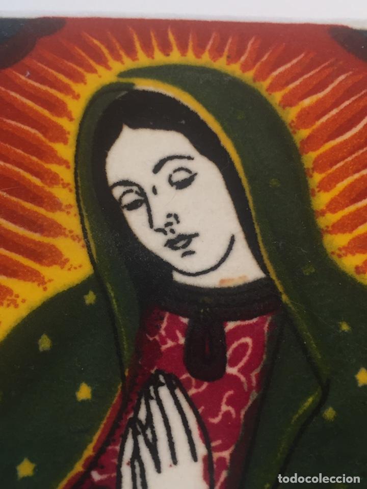 Arte: Virgen sobre tela pintada a mano o impresa?? - Foto 2 - 144221737