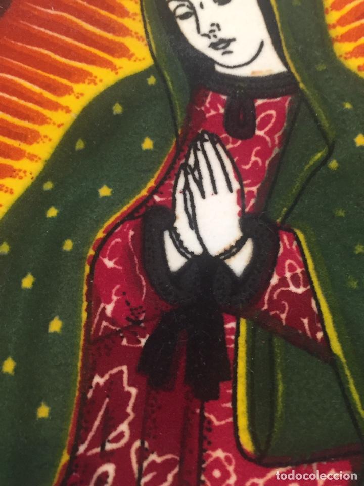 Arte: Virgen sobre tela pintada a mano o impresa?? - Foto 3 - 144221737