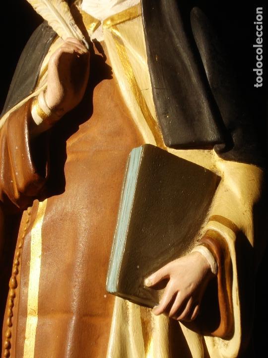 Arte: ANTIGUA IMAGEN DE SANTA TERESA ABADESA EL ARTE CRISTIANO - Foto 8 - 145044326