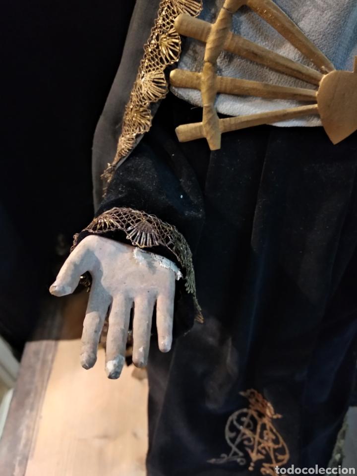 Arte: Espectacular Virgen Dolorosa Capipota, con capilla .sXIX - Foto 7 - 145270076