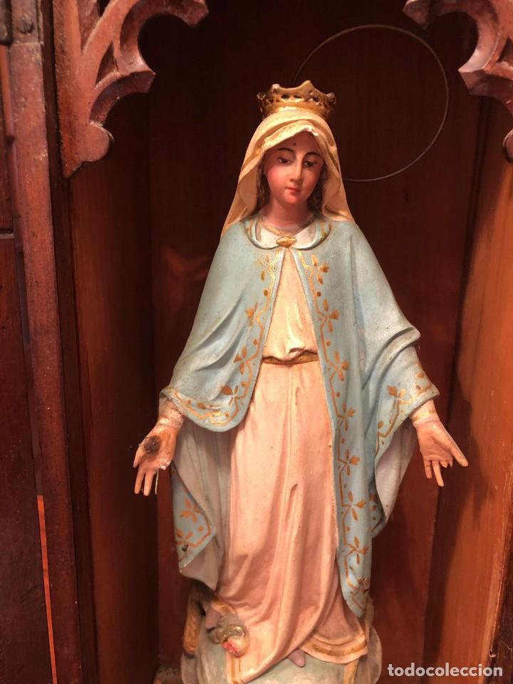 VIRGEN MILAGROSA (Arte - Arte Religioso - Escultura)