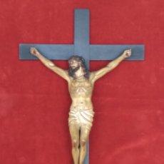Arte: CRISTO CRUCIFICADO OLOT. Lote 145810973