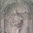 Arte: C. BUCHER, INMACULADA EN PÓRTICO, 1881. Lote 145970598