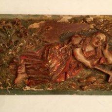 Arte: RELIEVE, SIGLO XVII. ESCUELA CASTELLANA. NOGAL. Lote 146035985