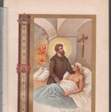 Arte: SAN JUAN DE DIOS - LITOGRAFIA F. GONZALEZ ROJAS / 1912. Lote 146145874