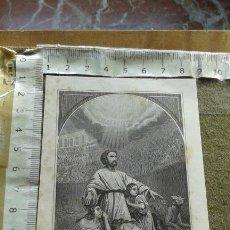 Arte: PEQUEÑO GRABADO J. NICOLAU S.C - SIGLO XIX - MARTIRES CRISTIANOS ROMA. Lote 146343670