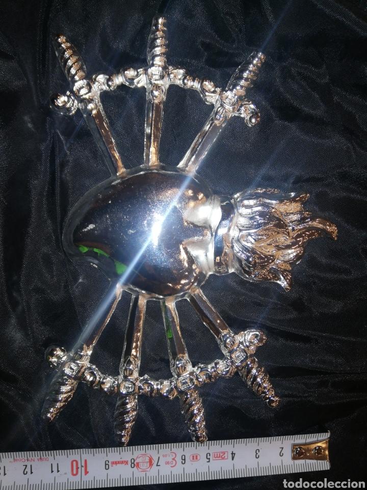 Arte: Corazón siete puñales para virgen metal plateado - Foto 4 - 146612098