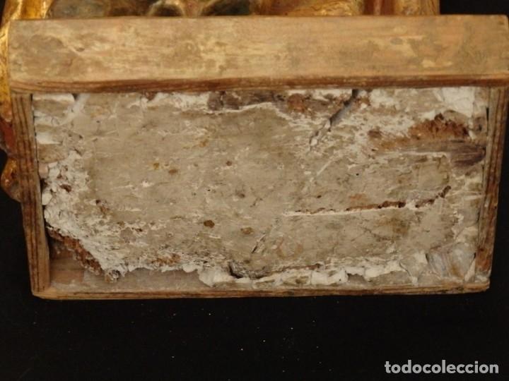 Arte: Alegoría de la Libertad. escultura tallada en madera de la Escuela Romanista del siglo XVI. 76 cm. - Foto 22 - 146693934