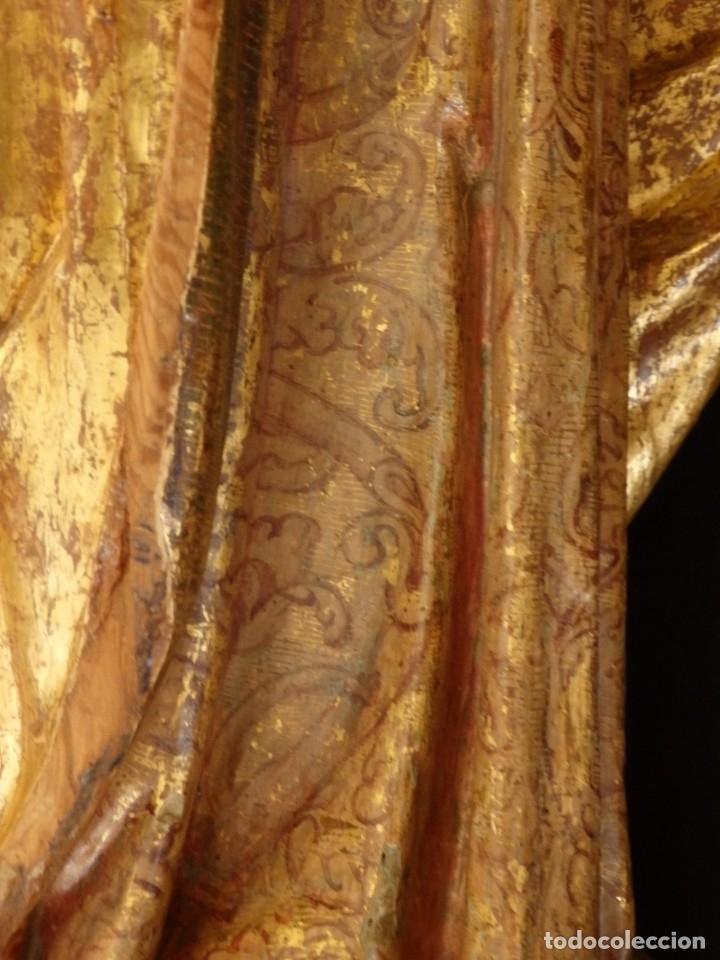 Arte: Alegoría de la Libertad. escultura tallada en madera de la Escuela Romanista del siglo XVI. 76 cm. - Foto 17 - 146693934
