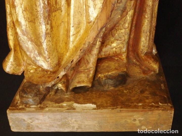 Arte: Alegoría de la Libertad. escultura tallada en madera de la Escuela Romanista del siglo XVI. 76 cm. - Foto 18 - 146693934