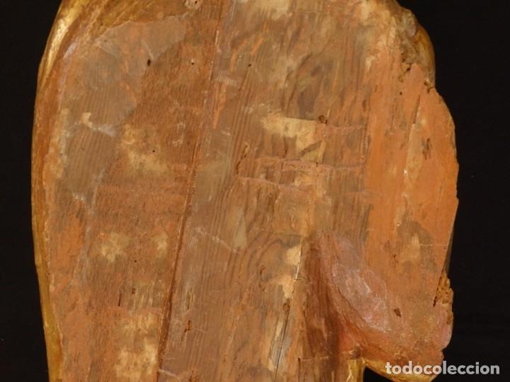 Arte: Alegoría de la Libertad. escultura tallada en madera de la Escuela Romanista del siglo XVI. 76 cm. - Foto 26 - 146693934
