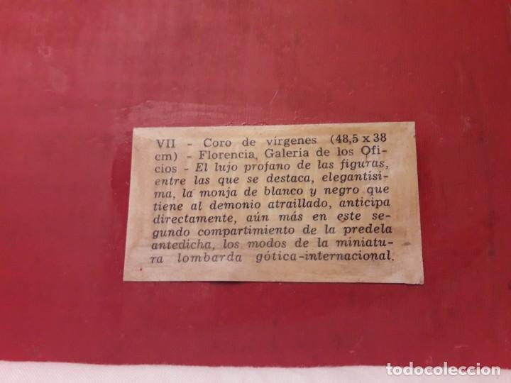 Arte: Cuadro reproducción Santa Catalina de Siena y otras santas de Giovanni da Milano - Foto 11 - 146745234