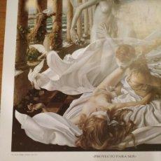 Arte: CARTEL DEL PINTOR ALEX ALEMANY, OBRA 'PROYECTO PARA SER', AÑO 1989. Lote 146800118
