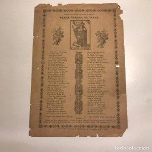1880 Gozos a la serafica madre y doctora Santa Teresa de Jesus