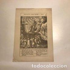 Arte: SUSCITATUR VIRGO MATER Á FILIO. 152. CLII. 23'3 X 14'5 CM. Lote 147171606