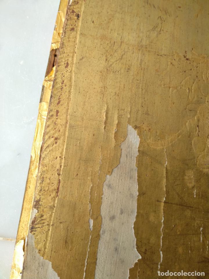 Arte: Antigua puerta de Sagrario con óleo lienzo - Foto 36 - 103376407