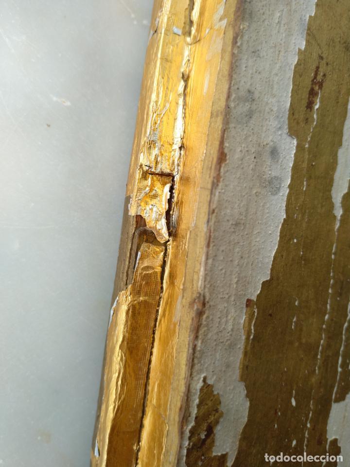 Arte: Antigua puerta de Sagrario con óleo lienzo - Foto 39 - 103376407