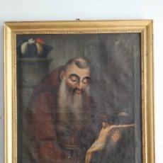Arte: ÓLEO ANTIGUO RELIGIOSO. BEATO DE CÁDIZ.. Lote 147467358