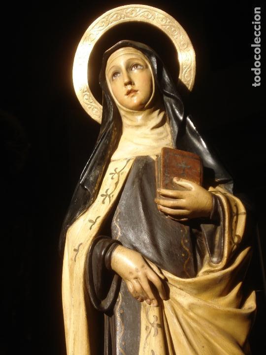 Arte: ANTIGUA SANTA TERESA DE JESUS DOCTORA DE LA IGLESIA - Foto 2 - 147449902