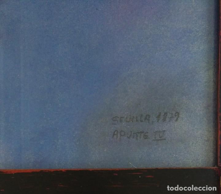 Arte: Angelote, dibujo a ceras de 1879. - Foto 3 - 147621810