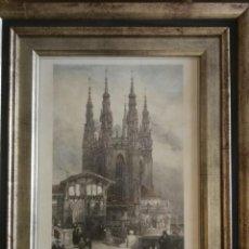 Arte: GRABADO CATEDRAL DE BURGOS, CAPILLA DE CONDESTABLE DE DAVID ROBERT'S 1837. Lote 147680274