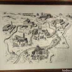 Arte: 1575 - ANTOINE LAFRÉRY - ELPEREGRINAJE DE LAS SIETE IGLESIAS DE ROMA. Lote 147710749