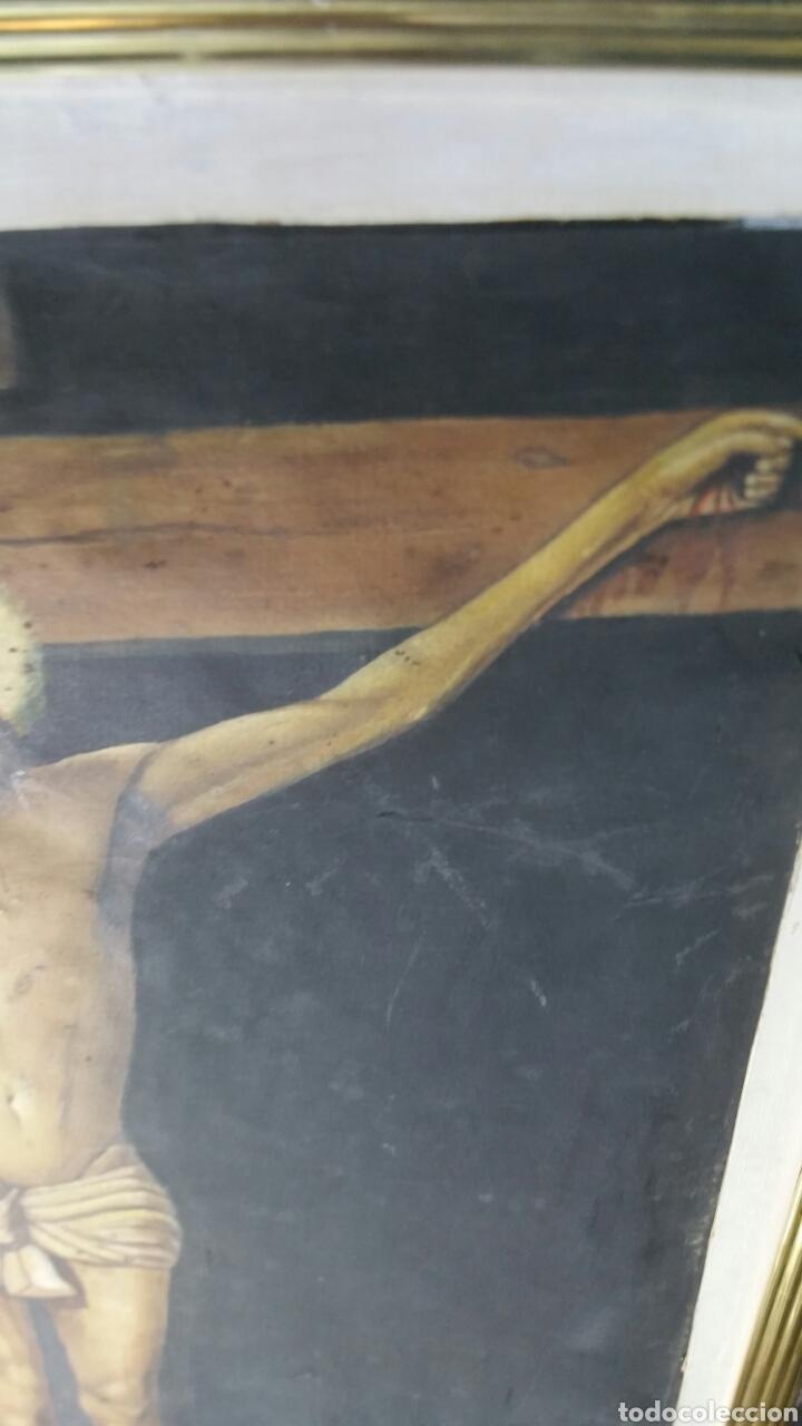 Art: Cuadro antiguo de La crucifixión de Jesucristo utilizando la técnica de la acuarela - Foto 5 - 147771181