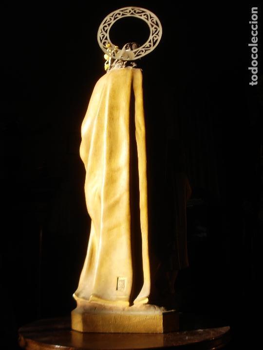 Arte: EL ARTE CRISTIANO ANTIGUO SAN JOSÉ CON NIÑO PASTA DE MADERA - Foto 12 - 147815526