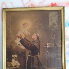 Arte: PAPEL SAN ANTONIO FECHADO. PARA RESTAURAR.. Lote 147849154