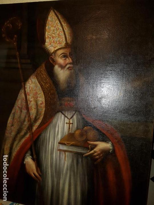OLEO SOBRE LIENZO. SIGLO XVII-XVIII.GRANDE (Arte - Arte Religioso - Pintura Religiosa - Oleo)