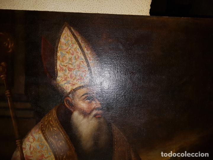 Arte: OLEO SOBRE LIENZO. SIGLO XVII-XVIII.GRANDE - Foto 2 - 147858350