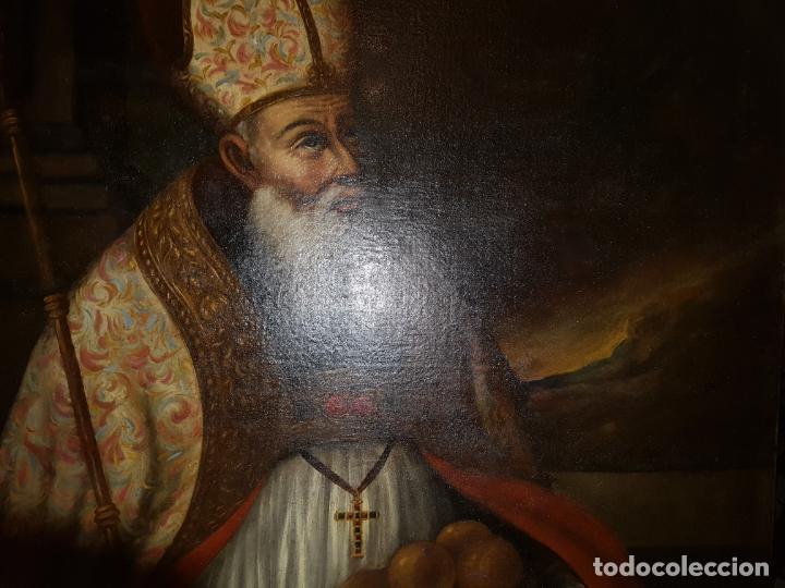Arte: OLEO SOBRE LIENZO. SIGLO XVII-XVIII.GRANDE - Foto 3 - 147858350