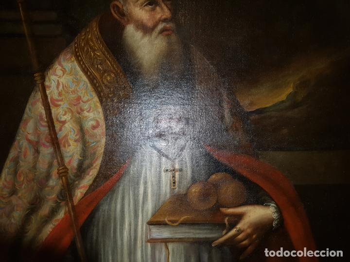 Arte: OLEO SOBRE LIENZO. SIGLO XVII-XVIII.GRANDE - Foto 4 - 147858350