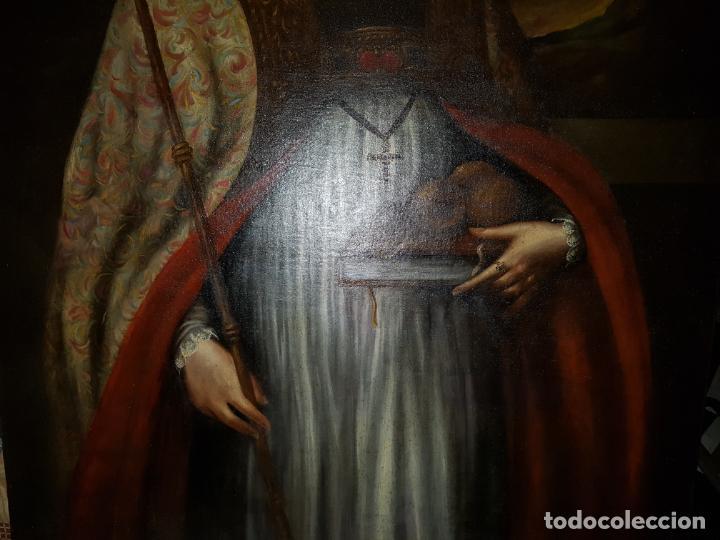 Arte: OLEO SOBRE LIENZO. SIGLO XVII-XVIII.GRANDE - Foto 5 - 147858350