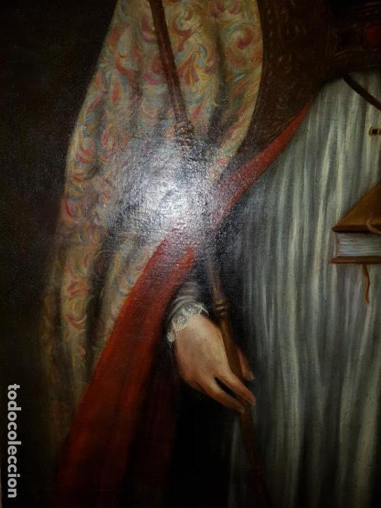 Arte: OLEO SOBRE LIENZO. SIGLO XVII-XVIII.GRANDE - Foto 6 - 147858350
