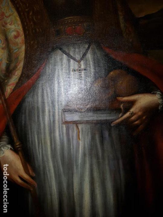 Arte: OLEO SOBRE LIENZO. SIGLO XVII-XVIII.GRANDE - Foto 7 - 147858350