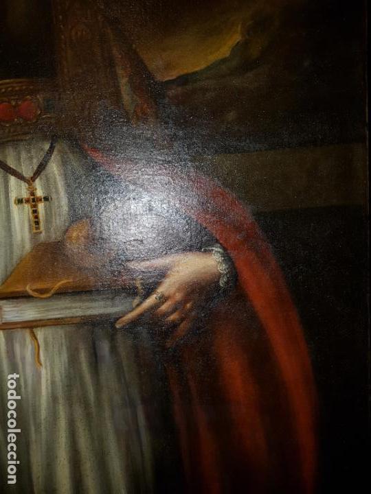 Arte: OLEO SOBRE LIENZO. SIGLO XVII-XVIII.GRANDE - Foto 8 - 147858350