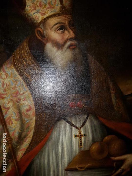 Arte: OLEO SOBRE LIENZO. SIGLO XVII-XVIII.GRANDE - Foto 10 - 147858350
