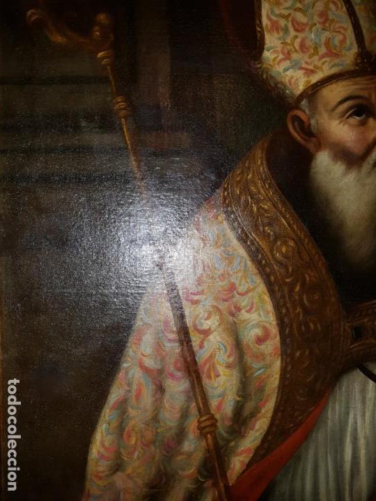Arte: OLEO SOBRE LIENZO. SIGLO XVII-XVIII.GRANDE - Foto 11 - 147858350