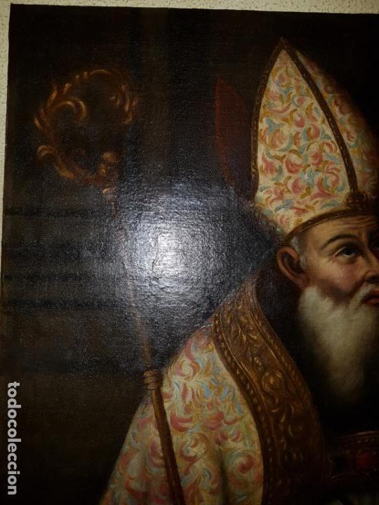 Arte: OLEO SOBRE LIENZO. SIGLO XVII-XVIII.GRANDE - Foto 12 - 147858350