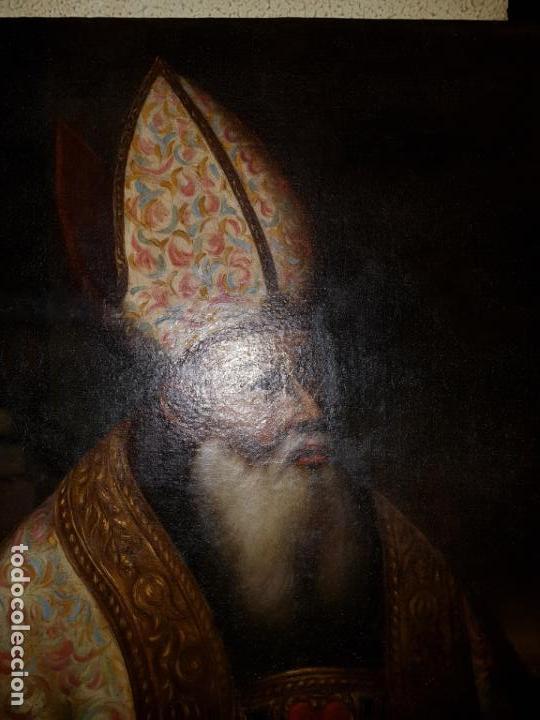 Arte: OLEO SOBRE LIENZO. SIGLO XVII-XVIII.GRANDE - Foto 13 - 147858350