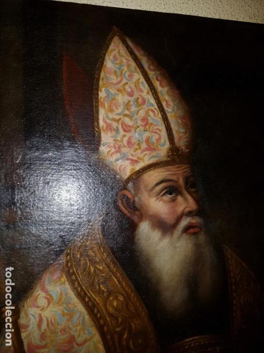 Arte: OLEO SOBRE LIENZO. SIGLO XVII-XVIII.GRANDE - Foto 17 - 147858350