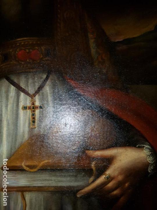 Arte: OLEO SOBRE LIENZO. SIGLO XVII-XVIII.GRANDE - Foto 22 - 147858350