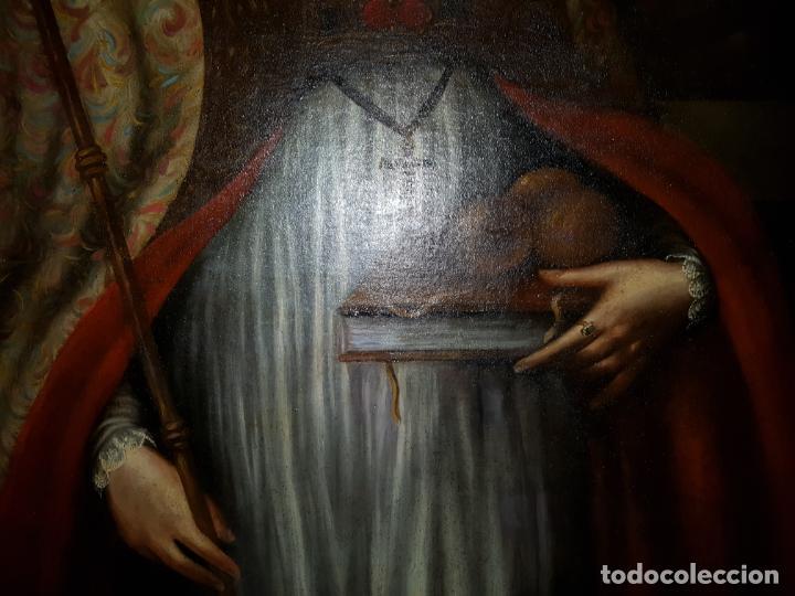 Arte: OLEO SOBRE LIENZO. SIGLO XVII-XVIII.GRANDE - Foto 23 - 147858350